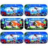 Sky Solutions Style Funny Water Console Ring Toss Puzzle Game Toy Gift Present Colorful for Kids Children Early Education (Pack of 1)