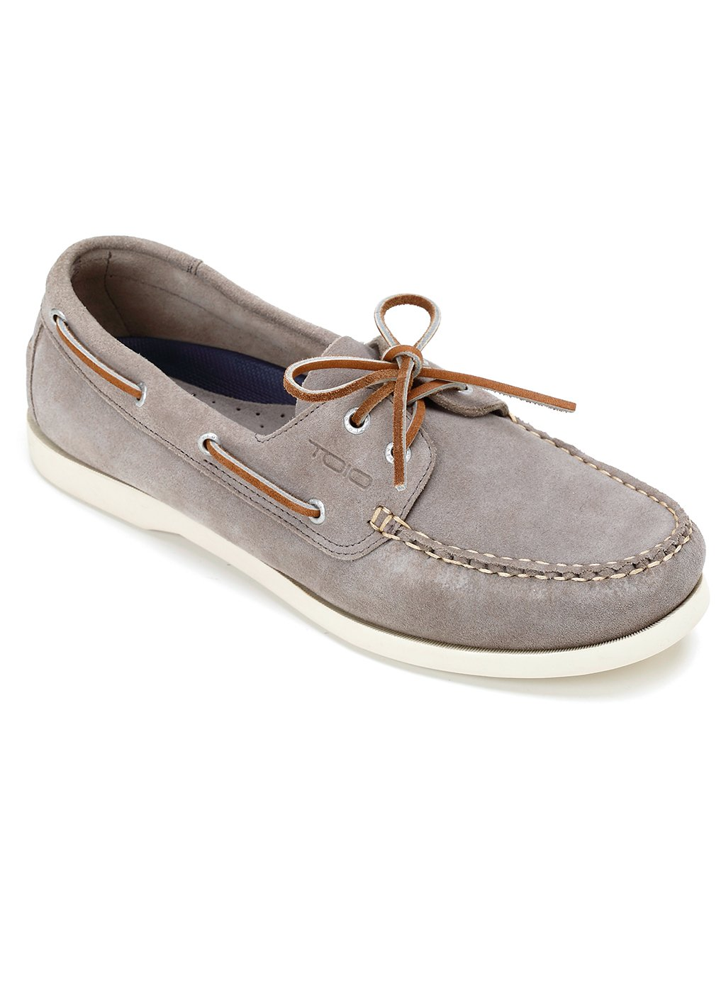 TOIO Mens HARBOUR SHOE MOCASSIN - Handcrafted 100% leather (suede) rubber  sole with anti-slip tread: Amazon.co.uk: Sports & Outdoors