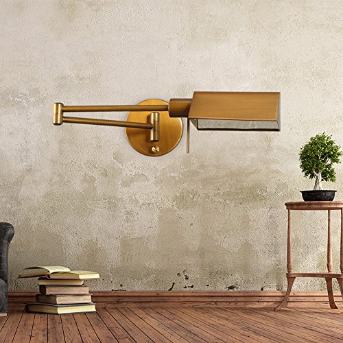 GaoHX American rurali industriali Vintage vento Creative in ferro battuto