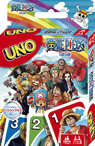 Uno Jeu De Cartes One Piece (Manuel D'Instructions Seulement En Japonais)