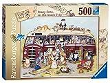 Ravensburger Crazy Cats - Vintage Bus 500 Teile Jigsaw Puzzle