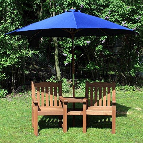 ROG garden-line VivaGardea® RL3020: Feierabend-Bank Siesta 2-SITZER MIT ABLAGE