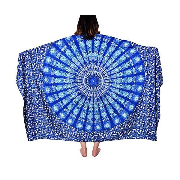 Vbiger Telo Mare Asciugamani Mare Abbigliamento da Mare Telo Mare Donna Bikini Cover-up 1 spesavip