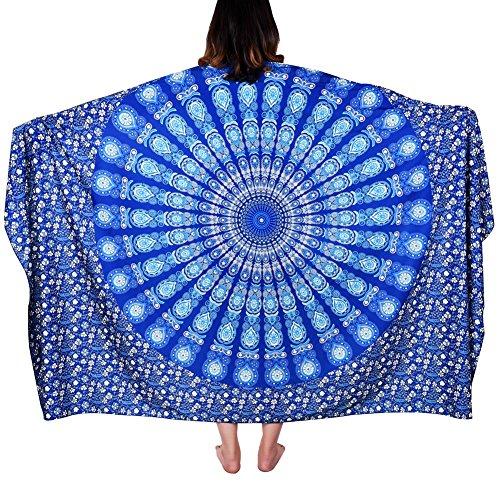Vbiger Strandabdeckung Strandtuch Strandhandtuch Stylish Strand Badetuch Bikini Cover Up Strand Schal Strand-Yoga-Matten-Schal