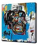 Untitled Head - Jean Michel Basquiat - Impression Sur Toile - Image Sur Toile - Impression Giclée