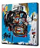 Untitled Head - Jean Michel Basquiat - Art Leinwandbild - Kunstdrucke - Gemälde Wandbilder