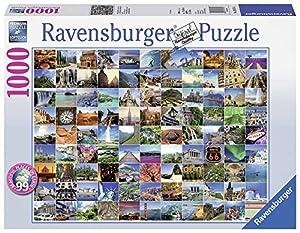 Ravensburger 99 lugares más bellos del mundo, puzzle de 1000 piezas (19371 4)