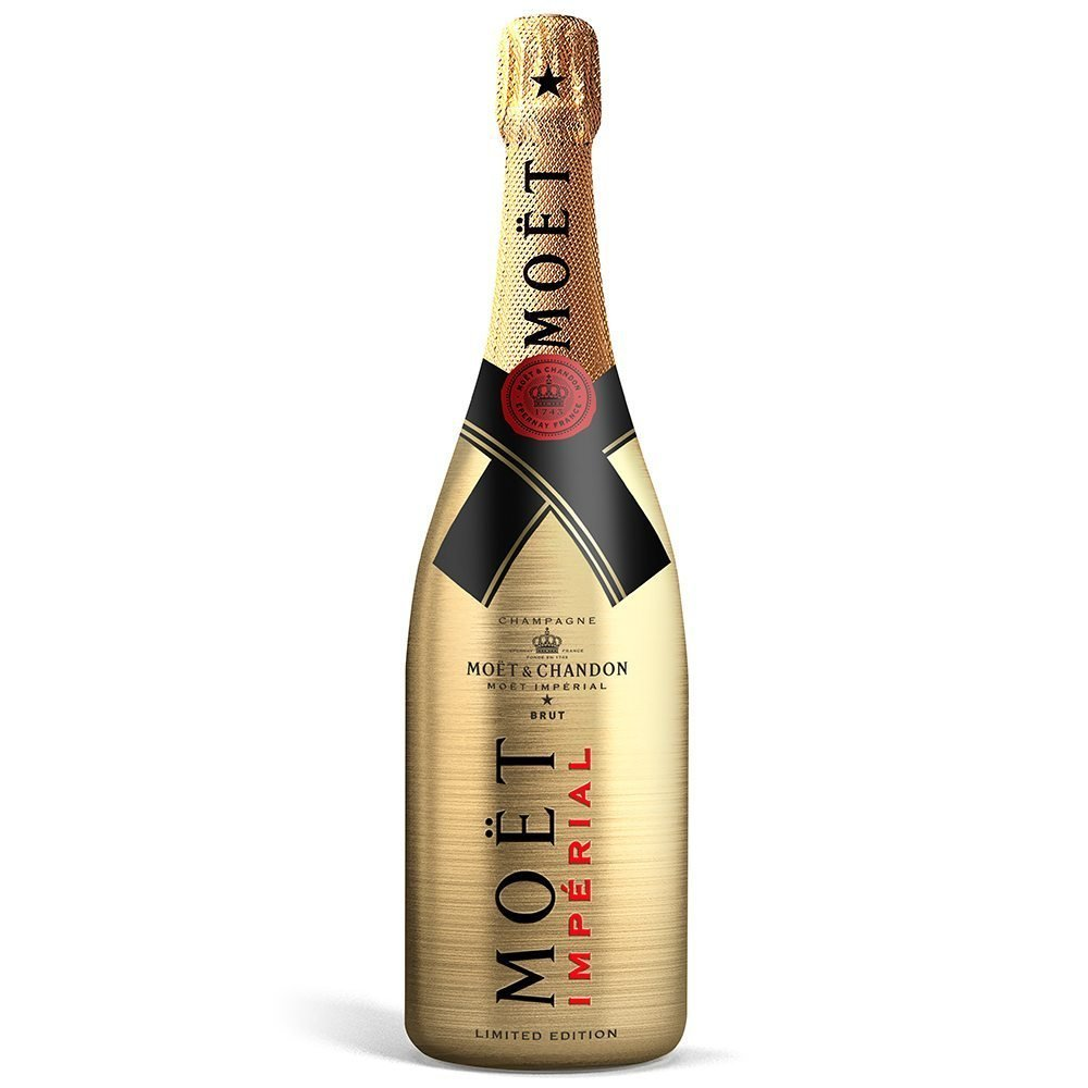 MOET & CHANDON GOLD IMPERIAL 75CL CHAMPAGNE