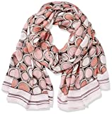 TAIFUN Damen Schal Petit Four, Mehrfarbig (Powder Pink Druck 3001), One size (Herstellergröße: 99)