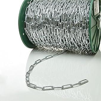 60m chaîne en acier galvanisé 4mm lien longue C2