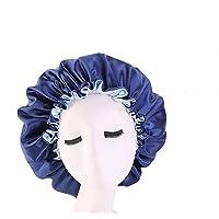 Agasti Handmade Fully Reversible Luxuries Pure Satin Hair Bonnet satin sleep cap (slip cap 1)