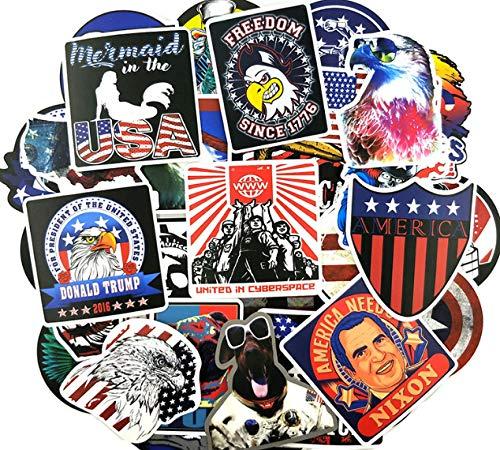 DZCYAN 100 Teile/Paket Amerikanischen Wahl Aufkleber Präsident Karte Für Laptop Kühlschrank Motorrad Fahrrad Koffer Spielzeug Aufkleber -