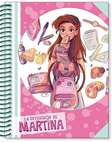 Libreta de La Diversión de Martina (rosa) (La diversión de Martina) por Martina D'Antiochia