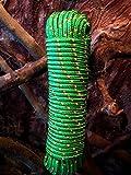 Nr.16 Grüne Leine 8 mm x 30 m,Tauwerk, Tau,Seil,Seile,Schnur,Tauziehen,Schleppseil,Schleppleine,Vielzweckseil,Bootsseil,Bootstau