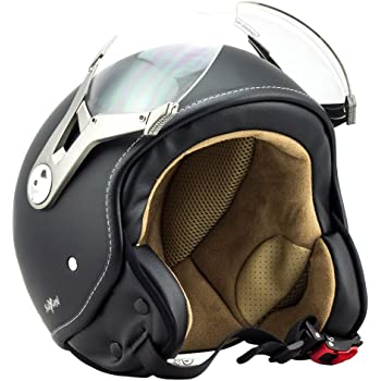 Moto Helmets H44 Italy Pilot Cruiser Retro Helmet Scooter Helm
