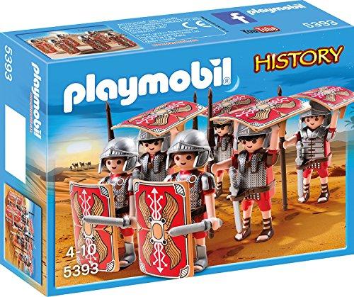 Preisvergleich Produktbild PLAYMOBIL 5393 - Römer-Angriffstrupp