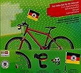 DFB Fahrrad Set WM 2018 Fahrrad Set Deutschland Fan Fahne Klingel Speichenclips Getränkehalter Weltmeister Deutschland