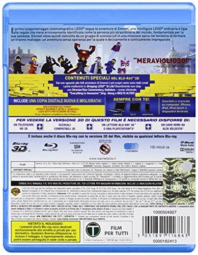 the lego movie (blu-ray 3d+blu-ray) blu_ray Italian Import