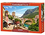 Castorland C-151387-2 - The Old Town of Mostar, Puzzle 1500 teilig