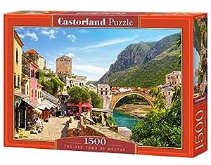 CASTORLAND The Old Town of Mostar 1500 pcs 1500pieza(s) - Rompecabezas (Jigsaw Puzzle, Ciudad, Niños y Adultos, 9 año(s), Niño/niña, Interior)