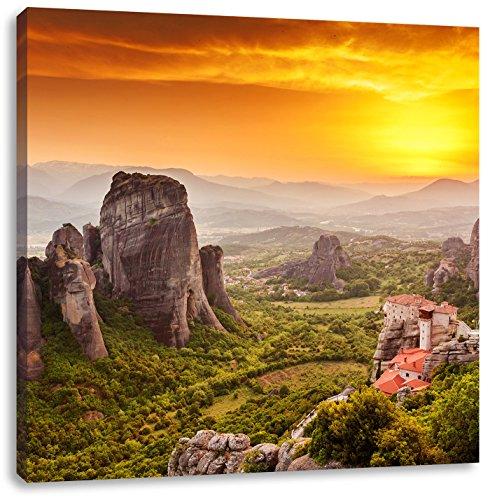Format: 70x70 auf Leinwand, XXL riesige Bilder fertig gerahmt mit Keilrahmen, Kunstdruck auf Wandbild mit Rahmen, günstiger als Gemälde oder Ölbild, kein Poster oder Plakat ()