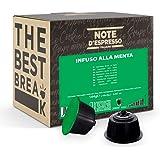 Note D'Espresso Capsule Compatibili con Macchine Nescafé e Dolce Gusto, Mint infusion 48 capsule
