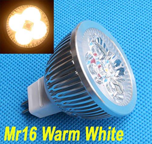 Preisvergleich Produktbild 1x 4W MR16/GU5.3 LED Lampen Warmweiss Leuchtmittel Strahler Beleuchtung 12V DC