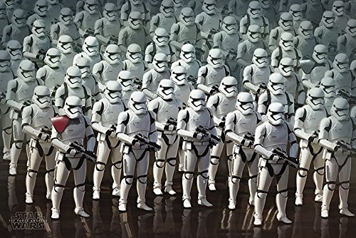 Star Wars The Force weckt-Stormtrooper Armee Maxi-Poster, mehrfarbig