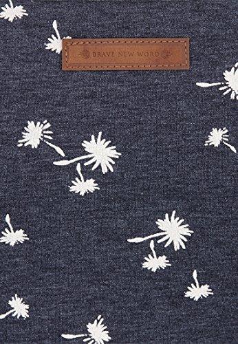 Naketano Female Shortsleeve Fiese Pissmatte III Indigo Blue Melange