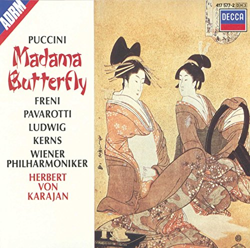 Puccini: Madama Butterfly (Gesamtaufnahme) (ital.) - Butterfly Music Box