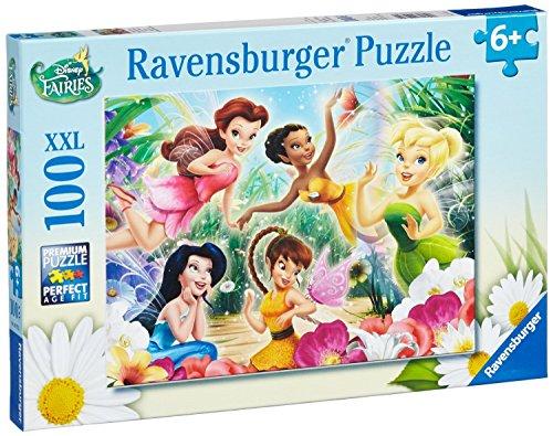 """Ravensburger - Puzzle con diseño de """"Disney Fairies"""", 100 piezas (10972 2)"""
