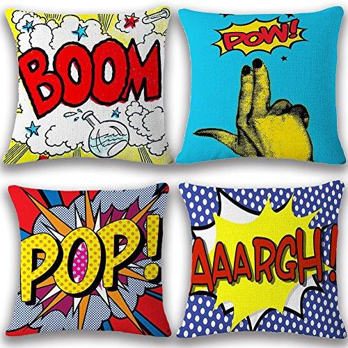 Confident New Style Irregular Stripe Pillow Case Sofa Waist Throw Cushion Coverhome Office Decor Home Textile Home & Garden