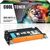 Cool Toner Kompatibel 593-10171 Cyan Toner für Dell 3110 3110CN Dell MFP 3115CN, 8000 Seiten