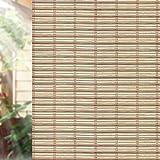 QUALSEN Pellicola Privacy Per Finestre Vetro Pellicola Decorativa per Vetri Anti-UV Controllo di Calore per Ufficio, Sala di Riunione, Casa, Bagno TM268 (60cm x 200cm)