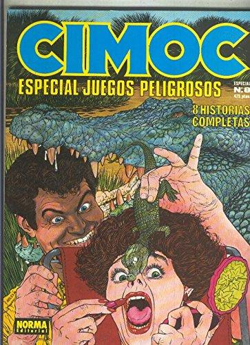 Cimoc extra numero 08: Juegos Peligrosos (numerado 2 en interior cubierta)