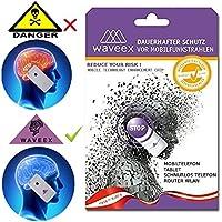 WAVEEX - 2 Stck -Aufkleber als Strahlenschutz vor Magnetfeld, Elektrosmog, Handystrahlung - Handy Blocker und... preisvergleich bei billige-tabletten.eu
