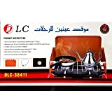 DLC Double burner camping stove with gas Burner DLC-38411