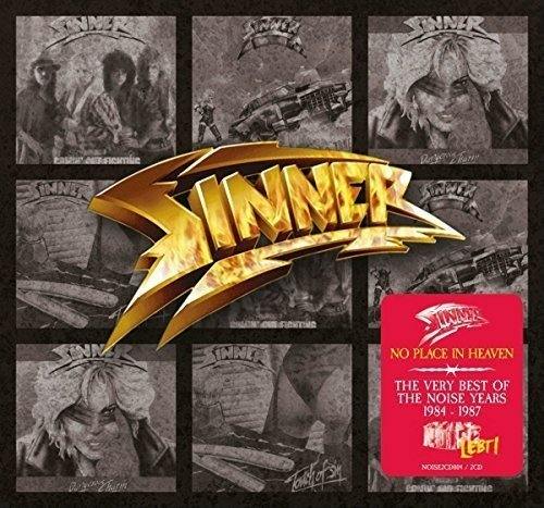 Sinner: No Place in Heaven-Very Best of the Noise Years (Audio CD)