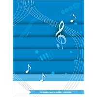 Scaricare Libri Quaderno Di Musica - 12 righi, 32 pp. carta Bianca PDF