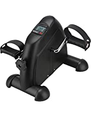 Fitrex Fitness Exercise Cycle for Home Gym - Mini Portable Pedal Bike for Leg & Arm Training - Stationary Exerciser Machine for Men, Women & Seniors for Weight Loss & Light Workout