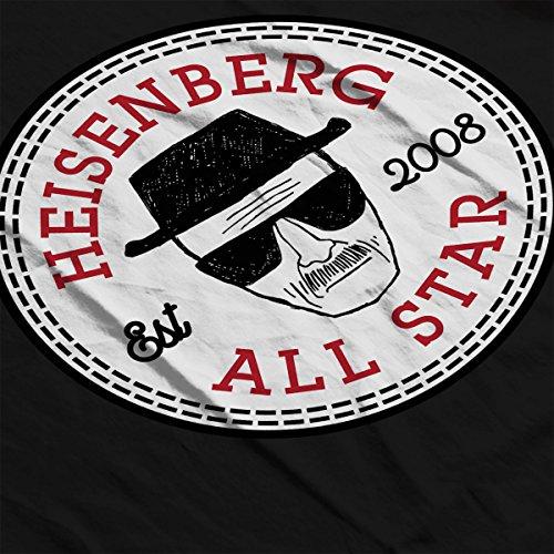 Breaking Bad Heisenberg All Star Converse Logo Women's Hooded Sweatshirt Black
