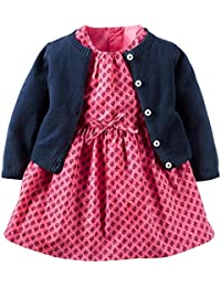 Carters Baby Girls Dress Sets 121g891