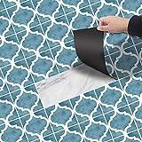 DMZH 10 STÜCKE Business Hotel Fliesen Aufkleber Dekorative Aufkleber Reise Aufkleber Kreative Rutschfeste Selbstklebende Wandtattoos Floor Sticker