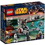 Lego - 300511 - Star Wars - 75045 - Jeu De Construction - Canon Anti - Véhicule Av - 7 De La République
