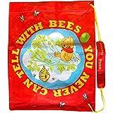 Boys Disney Red Winnie The Pooh Popper Fastening School Sports Gym & Swim Shoulder Bag