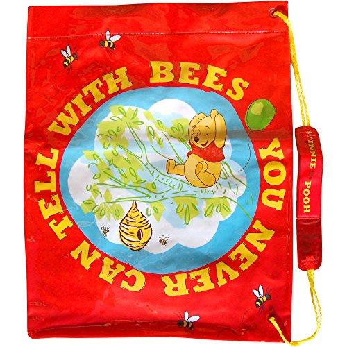 Motif Disney Winnie l'Ourson rouge Fermeture à pressions activités sportives & Swim Sac bandoulière