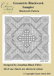 Geometric Blackwork Sampler Blackwork Pattern
