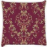 Snoogg Pack von zwei dekorativen quadratisch mit Aufdruck Home Decor Werfen Sofa Auto Kissenbezug Kissen Fall 14x 14
