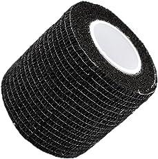 UxradG garza elastica, 5*450cm self-adherent bendaggio elastico tessuti non tessuti Tattoo–Trattamento primo soccorso Pet Vet Wrap self Adherent Cohesive Bandages (6colori)