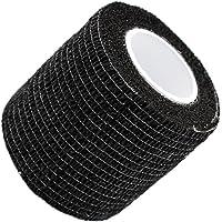 UxradG - fascia, autoaderente ed extra aderente, elastica, in tessuto non tessuto, per primo soccorso e per veterinari, coesa, 5 x 450 cm, 6 colori